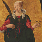 Polittico Griffoni, 1472-1473 circa, Francesco del Cossa,Santa Lucia, Tempera su tavola, Washington, National Gallery of Art