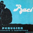 Federico Seneca, Manifesto pubblicitario, Baci Perugina, 1922, Carta/cromolitografia, 140 x 100 cm, Museo Nazionale Collezione Salce, Treviso