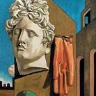 Canto d'amore, 1975, Da Giorgio de Chirico, Arazzo ad alto liccio, lana, 179 x 217 cm, Tessitura Arazzeria Scassa, Asti Collezione privata, Asti