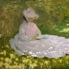 Claude Monet, Tempo di Primavera, 1872. The Walters Art Museum, Baltimora