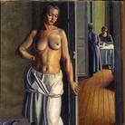 Mario Tozzi, La toeletta del amttino, 1922, Olio su tela