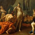 Sebastiano Ricci, Ercole ed Onfale, 1698-1703 circa, Olio su tela, 257 x 181 cm