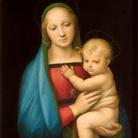 Raffaello Sanzio, La Madonna del Granduca, 1505-1506, Olio su pannello, 55 x 84 cm, Firenze, Uffizi, Galleria Palatina