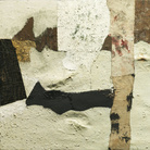 Alberto Burri, Bianco (White), 1952. Art Institute of Chicago