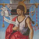 Polittico Griffoni, 1472-1473 circa, Francesco del Cossa, San Giovanni Battista, Tempera su tavola, Milano, Pinacoteca di Brera