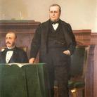 Luigi Busi, Cavour e Minghetti, 1866, Museo civico del Risorgimento di Bologna