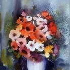 Luigi Zucchero, la mia vita con l'acquerello dal figurativo all'astratto