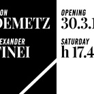 Aron Demetz. Intermezzo / Alexander Tinei. Sown by the roadside