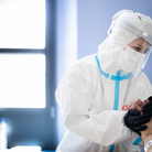 Massimo Sestini. Indispensabili infermieri