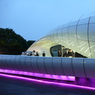 Mobile Art in Tokyo(2), Chanel Contemporary Art Container by Zaha Hadid   Photo by Shuets Udono via Flickr