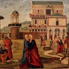 Vittore Carpaccio, La visitazione, 1504-1508, 137 x 128 cm,Venezia, Galleria Giorgio Franchetti alla Ca' d'Oro