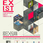 Coexist. Eight different kind of fantastic art
