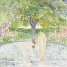 Cuno Amiet, Paradiso (Paradies), 1900-1901, Olio su tela, 90.5 x 98.5 cm, Collezione privata