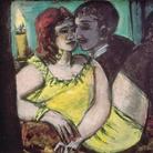 Max Beckmann, Gli amanti (verde e giallo), 1940-1943, Olio su tela, 80 x 60 cm, Museum Ludwig, Köln/Legat Lilly von Schnitzler-Mallinckrodt, Ankauf 1957| © 2018, ProLitteris, Zurich