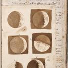 Galileo Galilei, Disegni originali delle Lune, 1609. Biblioteca Nazionale Centrale - Firenze