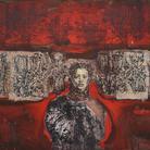 Tarik Berber, Dalla serie Seven Sisters, Sybille, Olio su tela, 160 x 120 cm, Zadar, 2019 | Courtesy Tarik Berber e Fondazione Maimeri 2019 | © Tarik Berber