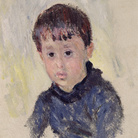Claude Monet (1840 - 1926), Michel Monet in maglione blu, 1883, Olio su tela, 46.5 x 38.5 cm, Parigi, Musée Marmottan Monet, Lascito Michel Monet, 1966, Inv. 5019 | © Musée Marmottan Monet, Académie des Beaux-Arts, Paris