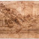 L'Adorazione dei Magi di Leonardo da Vinci al laboratorio dell'Opificio Fortezza da Basso