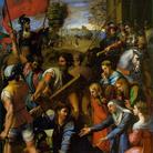 Raffaello Sanzio, Salita al Calvario,1515-1517 circa, Museo del Prado, Madrid