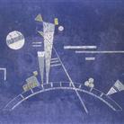 Vassily Kandinsky, Fragil (Fragile), 1931. Tempera su cartone, cm 34,7 x 48,4. Lascito Nina Kandinsky, 1981. © Centre Pompidou, MNAM?CCI / Service de la documentation photographique du MNAM / Dist. RMN? GP © Vassily Kandinsky by SIAE 2013