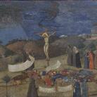Ambrogio Lorenzetti, Allegoria della Redenzione, 1338 circa, Tempera e oro su tavola, 120 x 59.5 cm, Siena, Pinacoteca Nazionale