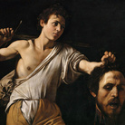Caravaggio,Davide con la testa di Golia, 1607, Olio su tavola, 90.5 x 116.5 cm, Vienna, Kunsthistorisches Museum | © Firenze, Scala/Austrian Archives