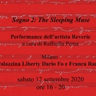 Reverie. Sogno 2. The Sleeping Muse - Performance