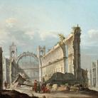 Pietro Bellotti, La Chiesa di San Nicola a Lisbona dopo il terremoto del 1 novembre (1755), cm 59,7 x 70,5. Londra, collezione privata