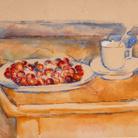Paul Cézanne, Tasse et plat de cerises, 1890 | Courtesy of Fondazione Magnani-Rocca 2020