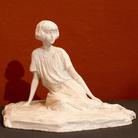 Paolo Troubetzkoy, Sheila Johnson, 1924, Gesso non patinato, 33 x 23 x 24 cm | Courtesy of Museo del Paesaggio di Verbania | Foto: Francesco Lillo 2016