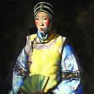 Primo Conti, Siao Tai Tai (La cinese), 1924, Olio su tela, Roma, Galleria d'Arte Moderna