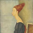 Amedeo Modigliani (Livorno,1884 - Parigi, 1920), Ritratto di Jeanne Hébuterne