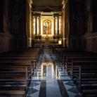 Interno della Basilica di San Paolo fuori le Mura a Roma, Immagine tratta dal film