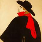 Henri de Toulouse-Lautrec, Aristide Bruant, dans son Cabaret (Before Letters), 1893, Litografia a colori, 95 x 127.3 cm | © Herakleidon Museum, Athens Greece