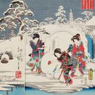 """Hiroshige, il """"maestro della pioggia e della neve"""" in mostra a Roma"""