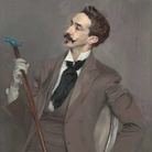Giovanni Boldini, Il conte Robert de Montesquiou, 1897, Parigi, Museé d'Orsay | © RMN - Grand Palais (Museé d'Orsay) / Hervé Lewandowski
