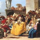 Giandomenico Tiepolo, Il minuetto, Olio su tela, 105 x 81 cm, Parigi, Musée du Louvre
