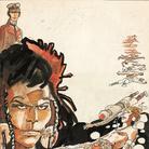 Hugo Pratt, Corto Maltese Le Etiopiche (copertina) | © 1978 Cong SA, Svizzera. Tutti i diritti riservati