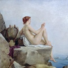 Edward Armitage (1817 - 1896), The Siren, 1888, Olio su tela, Leeds Art Gallery