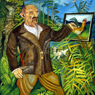 Antonio Ligabue, Il Grande Autoritratto, 1950-55. Olio su faesite, 190 x 130 cm.