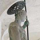 Comincia il restauro della statua del Tòdaro a Venezia
