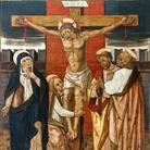 Vittore Crivelli (Venezia, 1435 circa - Fermo, 1501/1502), Crocifissione, 1490 circa, Tempera su tela, Fermo, Pinacoteca civica da Rocca Montevarmine, Chiesa di San Pietro