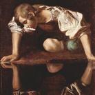 Michelangelo Merisi da Caravaggio, Narciso alla fonte, 1597-1599, Olio su tela, 92 x 112 cm, Galleria Nazionale d'Arte Antica, Palazzo Barberini, Roma