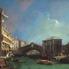 Canaletto (1697-1768), Il Ponte di Rialto da Nord, Venezia, 1725, Olio su tela, 134.6 x 90.5