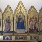 Polittico con la Madonna in trono e santi