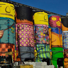 Outside the Cube - Osgemeos. Efêmero