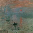 Claude Monet, Impressione, Levar del Sole, Particolare, 1872, Olio su tela, 63 x 48 cm, Musée Marmottan Monet, Parigi