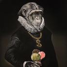 Simone Fugazzotto, CURIOSITY IS MY ONLY VANITY, 100 x 150 cm, Olio su tela | Courtesy of Simone Fugazzotto e Fondazione Maimeri