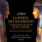 La Porta dei Sacerdoti. I sarcofagi egizi di Deir el-Bahari.  Esposizione e restauro in pubblico