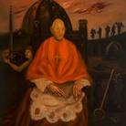 Scipione (Gino Bonichi), Il Cardinale Decano, 1930, Olio su tavola, Roma, Galleria d'Arte Moderna